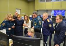 Экстренное совещание Свердловского МЧС