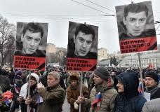 Митинг в память Немцова в Екатеринбурге