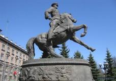 В Екатеринбурге вспомнили маршала Жукова